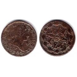 Carlos IV. 1802. 4 Maravedi (BC/BC-) Ceca de Segovia