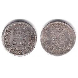 Fernando VI. 1758. ½ Real (BC+/MBC-) (Plata) Ceca de Méjico M