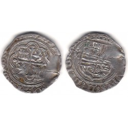 Felipe II. Sin Fecha. 1 Real (MBC) (Plata) Ceca de Méjico