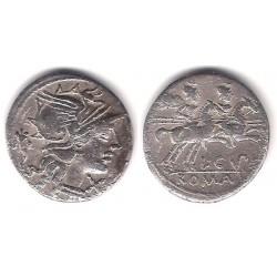 Cupienna. 147 a.C. Denario (MBC-) (Plata)