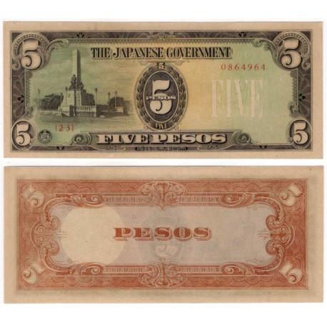 (110a) Filipinas. 1944. 5 Pesos (SC)