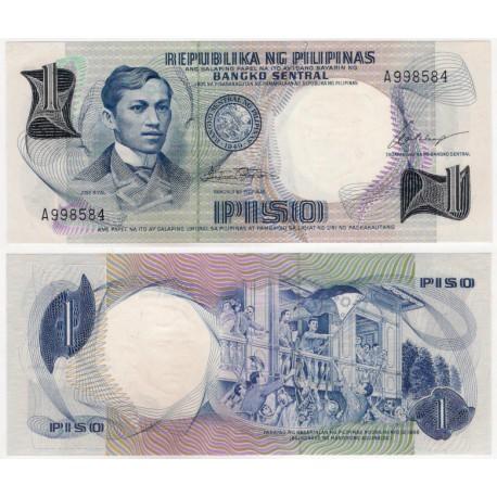 (142a) Filipinas. 1969. 1 Piso (SC)