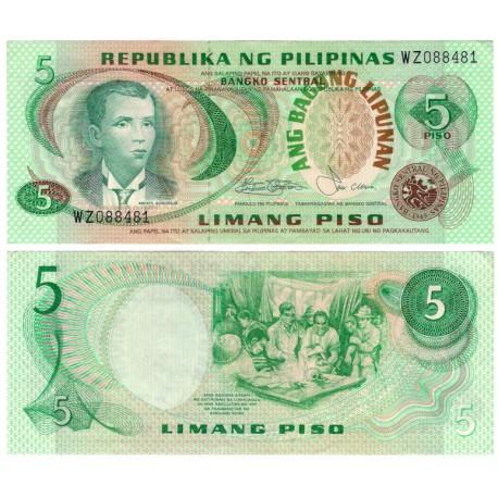(160b) Filipinas. 1978. 5 Piso (EBC)