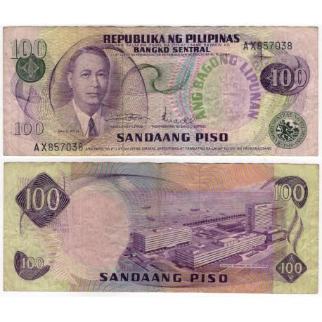 (164) Filipinas. 1978. 100 Piso (MBC)