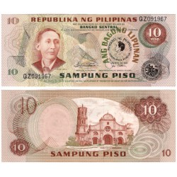 (167) Filipinas. 1981. 10 Piso (SC)