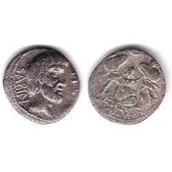 Titurius. 89 a.C. Denario (MBC) (Plata)