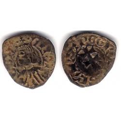 Reino de Aragon (Pedro IV). 1335-87. Dinero (BC+)