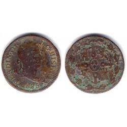 Fernando VII. 1825. 4 Maravedi (BC-) Ceca de Segovia