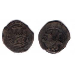 Felipe II. Sin Fecha. 2 Cuartos (BC) Ceca de Cuenca CA