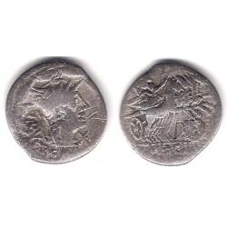 Acilia. 125 a.C. Denario (BC) (Plata)