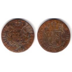 Fernando VII. 1823. 3 Cuartos (BC) Ceca de Barcelona
