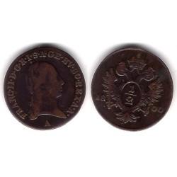 (2108) Austria. 1800. ½ Kreuzer (MBC)