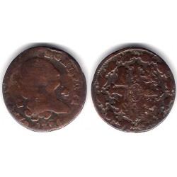 Carlos IV. 1796. 4 Maravedi (BC-) Ceca de Segovia