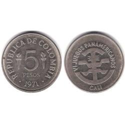 (247) Colombia. 1971. 5 Pesos (MBC)