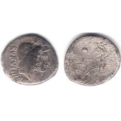 Cordia. 46 a.C. Denario (BC-) (Plata)