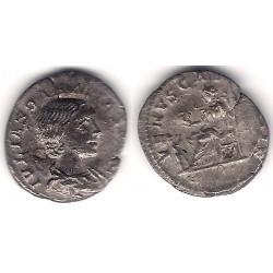 Julia Soemia. 218-222 d.C. Denario (BC) (Plata)