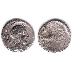 Vibia. 90 a.C. Denario (BC+) (Plata)