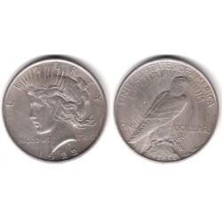 (150) Estados Unidos de América. 1922. 1 Dollar (MBC-) (Plata)