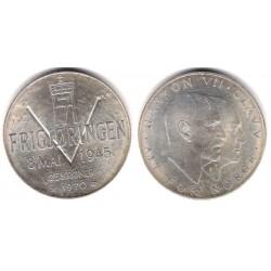 (414) Noruega. 1970. 25 Kroner (SC-) (Plata)