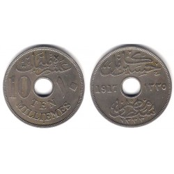 (316) Egipto. 1917. 10 Milliemes (MBC-)