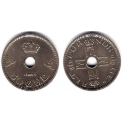 (836) Noruega. 1926. 50 Ore (MBC+)