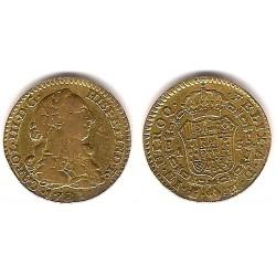 Carlos III. 1781. 1 Escudo (MBC-) (Oro) Ceca de Madrid PJ