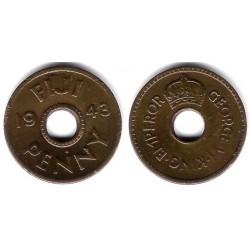 (7a) Islas Fiji. 1943. 1 Penny (MBC)