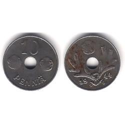 (34.1) Finlandia. 1944. 10 Penniä (MBC-)