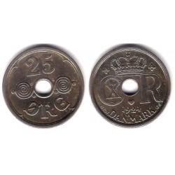 (823.1) Dinamarca. 1924. 25 Ore (MBC)