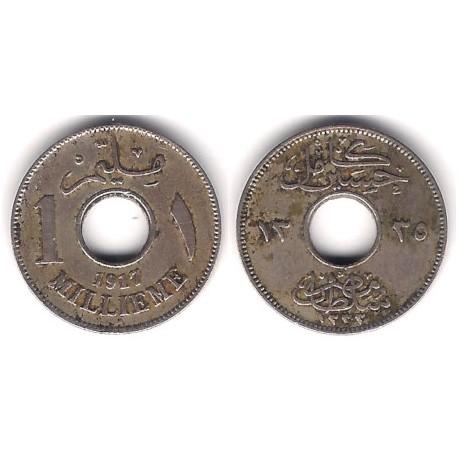 (313) Egipto. 1917. 1 Millieme (BC+)