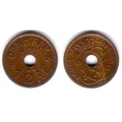 (826.2) Dinamarca. 1938. 1 Ore (MBC)