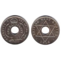 (8) África del Oeste Británica. 1915. ½ Penny (MBC)