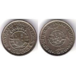 (34) India Portuguesa. 1959. 3 Escudos (SC)