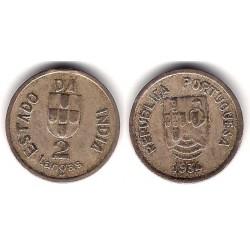 (20) India Portuguesa. 1934. 2 Tangas (MBC-)