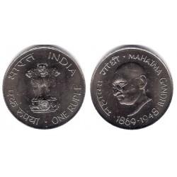 (77) India. 1969. 1 Rupee (SC)