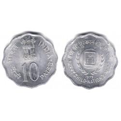 (33) India. 1979. 10 Paise (SC)