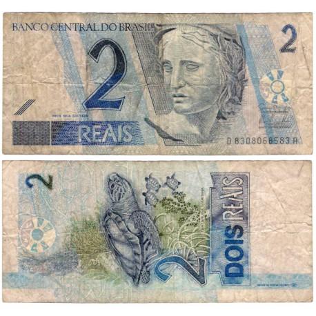 (249) Brasil. 2001-12. 2 Reais (BC)