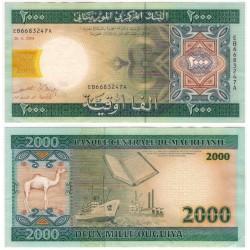 (14a) Mauritania. 2004. 2000 Ouguiya (EBC)