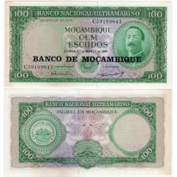 (117) Mozambique. 1976. 100 Escudos (EBC)