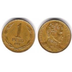 (216.1) Chile. 1981. 1 Peso (BC+)