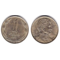 (207) Chile. 1975. 1 Peso (BC)