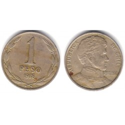 (208) Chile. 1976. 1 Peso (BC)