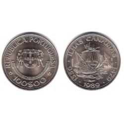 (646) Portugal. 1989. 100 Escudos (SC)