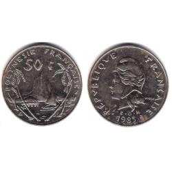 (13) Polinesia Francesa. 1985. 50 Francs (MBC)
