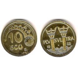 España. 1989. 10 Ecu (Proof) (Oro) 3,45 gr. de .900