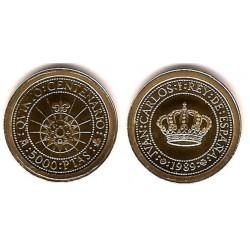 España. 1989. 5000 Pesetas (Proof) (Oro) 1,68 gr. de .999