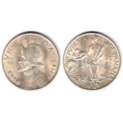 (13) Panamá. 1947. 1 Balboa (SC) (Plata)