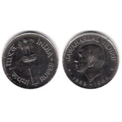 (76) India. 1964. 1 Rupee (EBC+)
