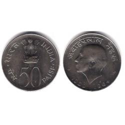 (57) India. 1964. 50 Paise (EBC)
