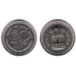 (55) India. 1962. 50 Paise (SC)